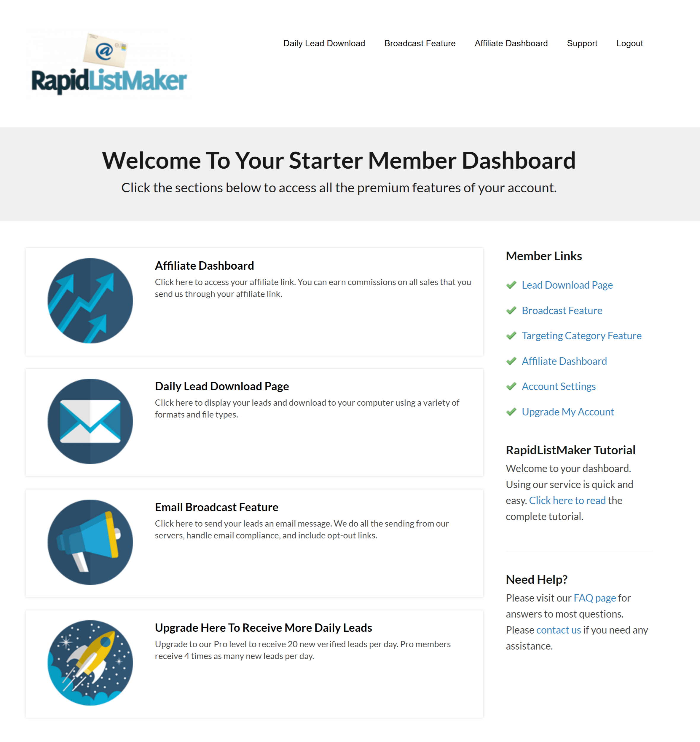 email leads email list building with rapidlistmaker com